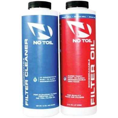 No-Toil FILTER OIL CLEANER 2PK – Luftfilterspray und Reiniger Set