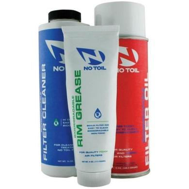 No-toil Luftfilter Pflegeset Spray, Reiniger, Fett 3PK