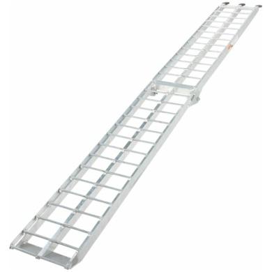 Auffahrrampe Aluminium für Auto Hänger Pickup 31x274cm (3910-0034)