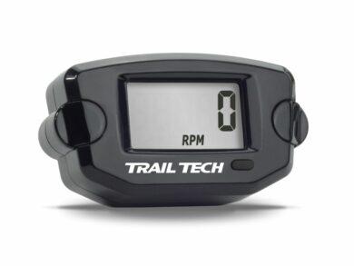 Trail Tech Betriebsstundenzähler Schwarz