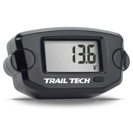 Trail Tech Batteriespannung Schwarz 3