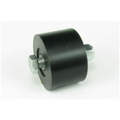 Kettenrolle D=43mm, B=28mm schwarz