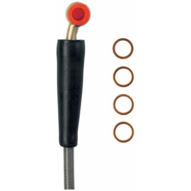Bremsleitung Edelstahl hinten RM125/250 (MS01-2026)