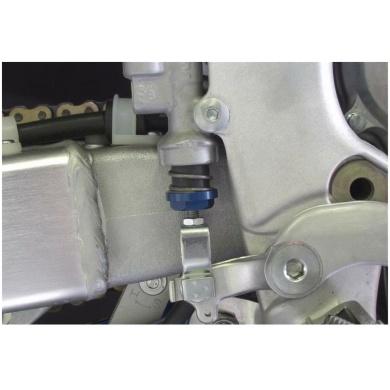 Works Connection Fußbremshebel Feder Kit by FasstCo 8mm Kawasaki KXF Blau