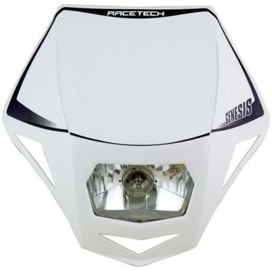 Lampenmaske Genesis E-geprüft weiß