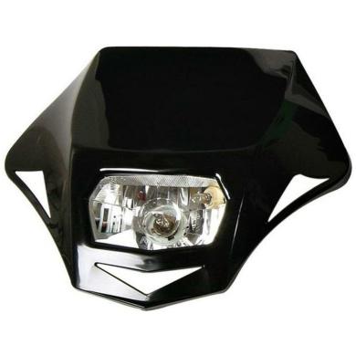 Lampenmaske Genesis E-geprüft schwarz 3