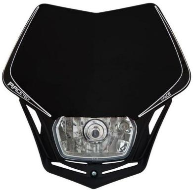 Lampenmaske V-Face schwarz E-geprüft