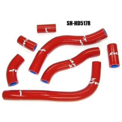 Silikon-Kühlerschlauch Honda CRF 450 09- 12 rot