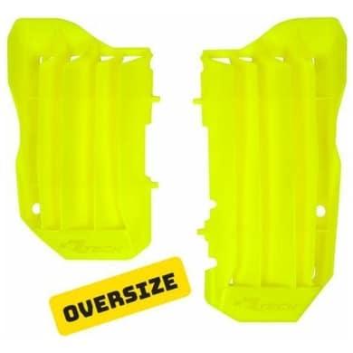 Rtech Oversize Kühlerschutzlamellen Crf 450 2017- Neon Gelb