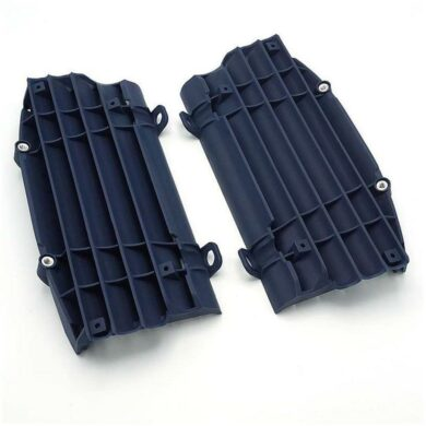Kühlerschutz Lamellen Kühler Verkleidung Louver Husqvarna FE 250 350 450 blau 17 3