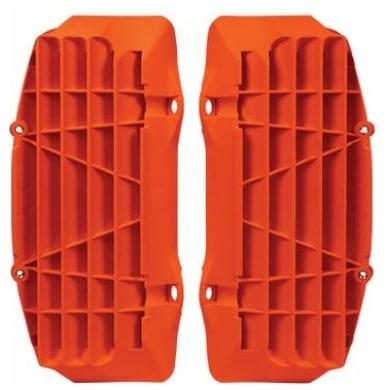 Rtech Oversize Kühlerschutzlamellen SX(F) 16-18  EXC(F) 17-19  Neon Orange