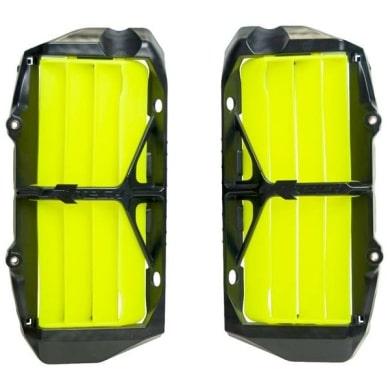 Rtech Oversize Kühlerschutzlamellen SX(F) 19-  EXC(F) 20-  Neon Gelb