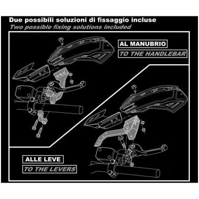 FLX Handschale universal schwarz 2