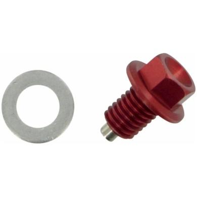 Ablaßschraube mit Magnet Rot (0920-0048)