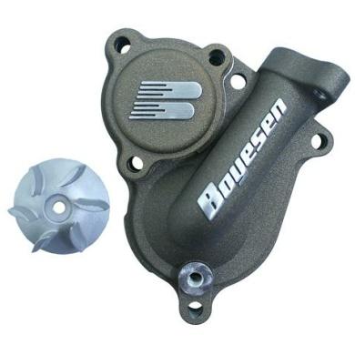 Boyesen SUPERCOOLER Wasserpumpendeckel und Impellerkits Kawasaki KX 250F 17- Magnesium
