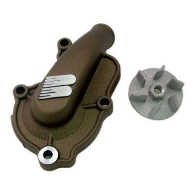 Boyesen SUPERCOOLER Wasserpumpendeckel und Impellerkits Yamaha YZ 250 99-20 Magnesium