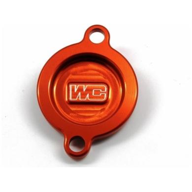 Works Connection Ölfilterdeckel KTM Orange