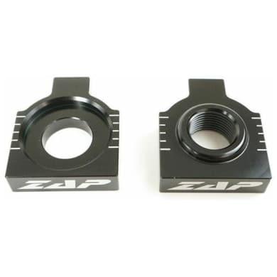 Achsenblöcke KTM EXC 98-, SX(F) 98-12, HSQ 2014-, 20mm schwarz