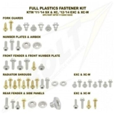 BOLT Schraubenkit für Plastikteile EXC 2012-16, SX(F) 2011-15