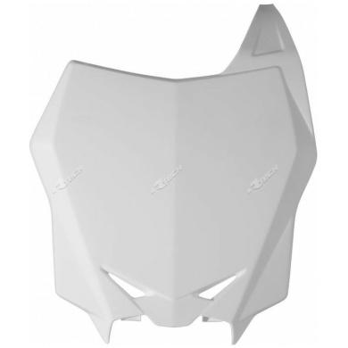 Factroy-Nummerntafel vorn RMZ 450 08-17, RMZ 250 10-18 Weiß