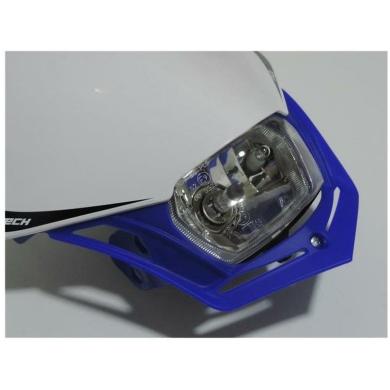 Lampenmaske V-Face blau/weiß 2