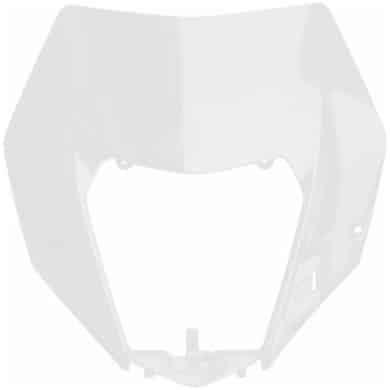 Lampenmaske KTM EXC/F 2014-2016 Weiß