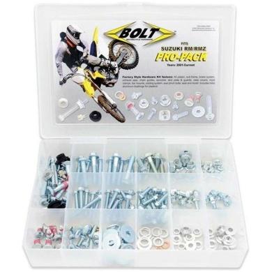 BOLT Pro-Pack Schraubenkit Suzuki RM(Z) 2001-, 180-teilig