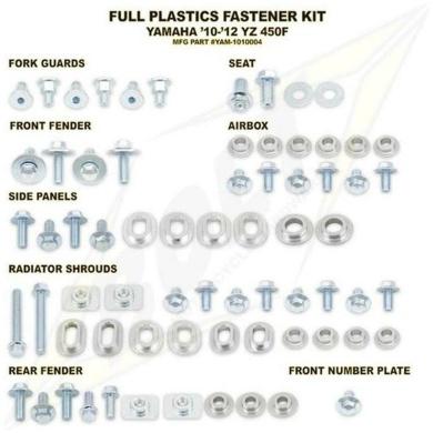 BOLT Schraubenkit für Plastikteile YZF 450 10-13