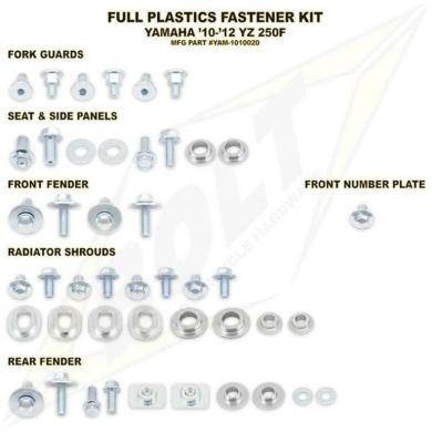 BOLT Schraubenkit für Plastikteile YZF 250 10-13