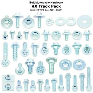BOLT Track Pack KXF Schraubenkit 4-tlg m. Display 2