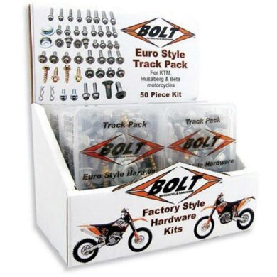 BOLT Track Pack EURO Schraubenkit 4-tlg m. Display