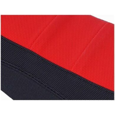 ZAP Factory-Grip Sitzbezug CRF 450 09-12, 250 10-13 2-farbig Schwarz/Rot 2