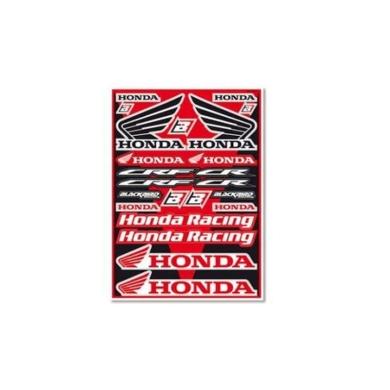 Aufkleberset Kit Universal Honda