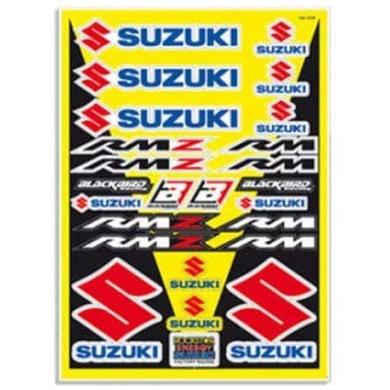 Aufkleberset Logo Kit Suzuki