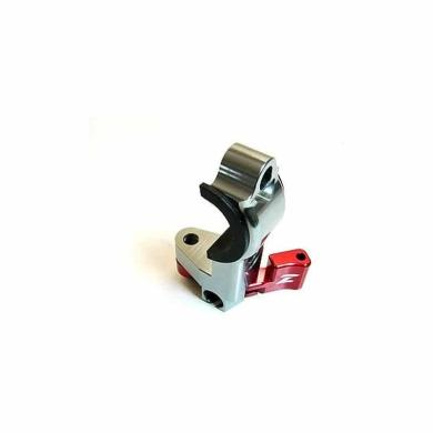 Heißstarthebel Brems-Seite rot