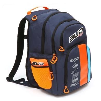 BUD Racing Rucksack Marine / Orange